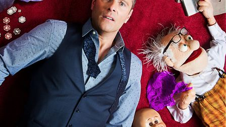 Paul Zerdin brings his new All Mouth UK tour to The Radlett Centre in October