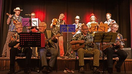 The Rotary Club of Huntingdon Cromwell's Vaudeville evening.