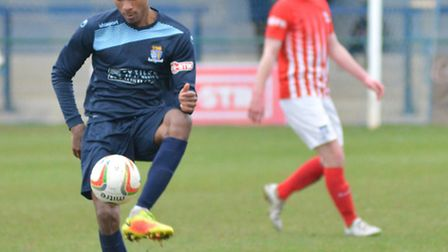 St Neots Town star Jevani Brown is a wanted man.