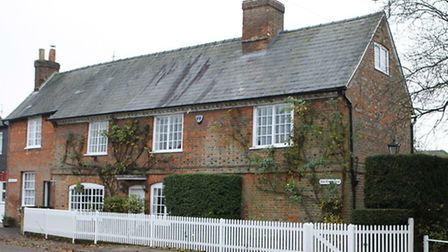 The village boasts some fine period properties