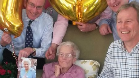 Lily Winter on her 107th
