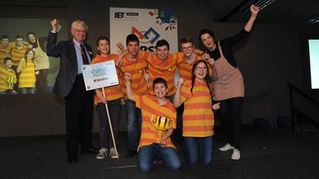 Budding young engineers B6 Berrellium announced as FIRST LEGO League UK champions.