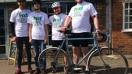 Team 'WE'VE HAD IT' for Herts Action on Disability