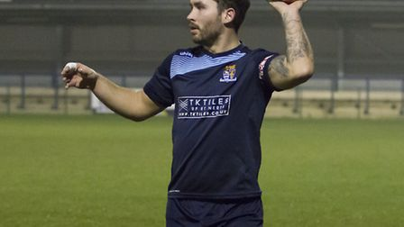 Jonny Hall is back at Godmanchester Rovers. Picture: CLAIRE HOWES