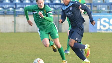 Jevani Brown hit a late winner for St Neots Town.