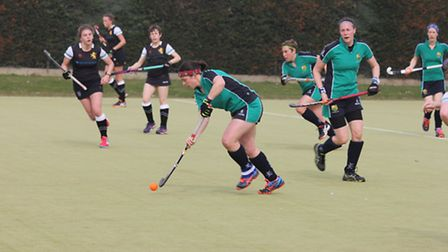 Helen Clarke found the net as St Ives Ladies 1sts beat Haverhill.