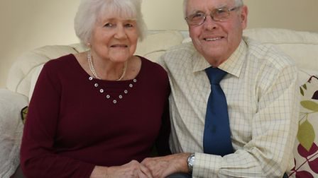Liz and John Triggs, from Wyton.