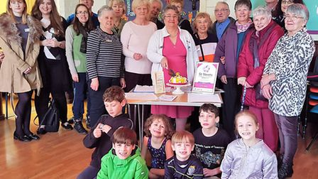 Members of the St Neots Timebank at a recent event.