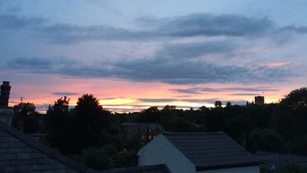 Picture perfect: The view from Vincent's home in St Albans