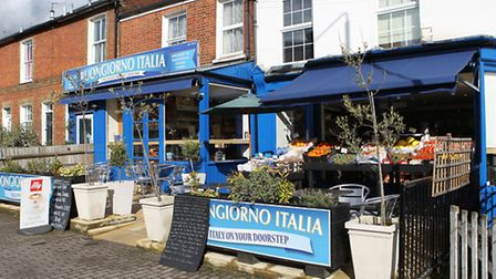 Vincent is a big fan of Buongiorno Italia on Lattimore Road