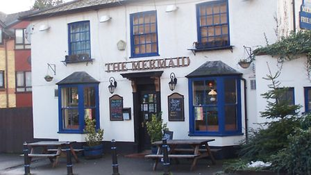 The Mermaid pub in St Albans. Picture: Roger Protz