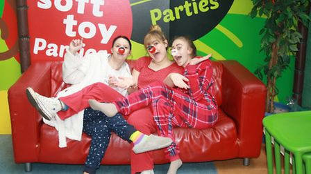 Red Nose Day at DJ's Jungle Adventure