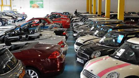 Carworlds eight-acre site has more than 1,000 cars in stock from all 36 major manufacturers