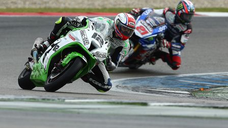 Luke Mossey in action at Assen in round 11 of the 2016 MCE British Superbike Championship. Picture: