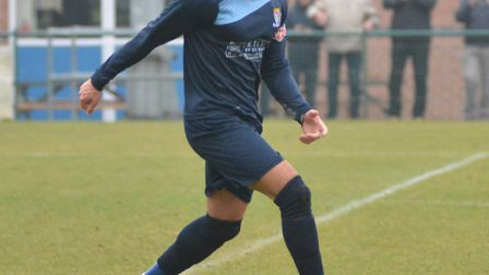 Bradley Fortnam-Tomlinson completes his loan stay at St Neots Town tonight following an away clash a
