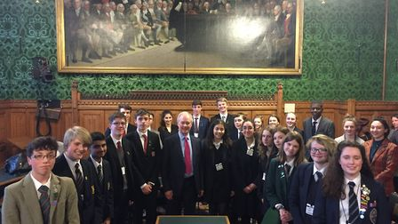 The Hitchin and Harpenden schools' debating competition.