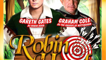 Gareth Gates will star as Robin Hood in an Easter panto at The Alban Arena in St Albans