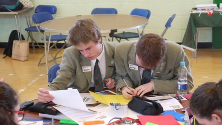 St George's School at African Adventures' School Geography Competition final