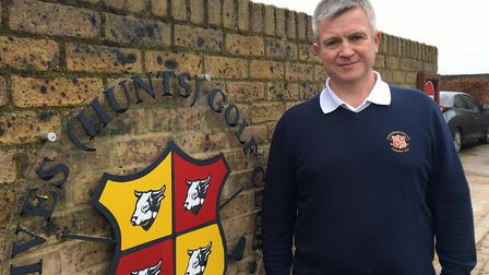 Gordon MacLeod, general manager, at St Ives Golf Club