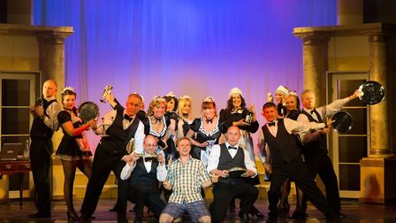 Harpenden Light Operatic Society's production of Dirty Rotten Scoundrels [Picture: Richard Washbrook