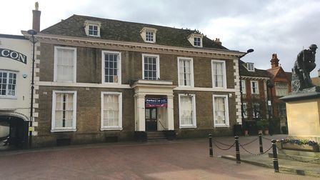 Plans have been submitted to turn the 18th century Wykeham House, in Huntingdon, into flats