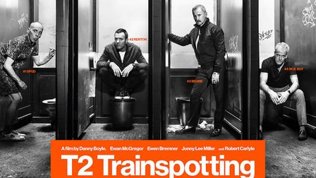 Movie T2 Trainspotting can be seen on the cinema screen at The Alban Arena in St Albans