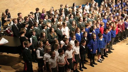 No less than 11 schools took part in Youth Makes Music 2017. Picture: Ray Munden