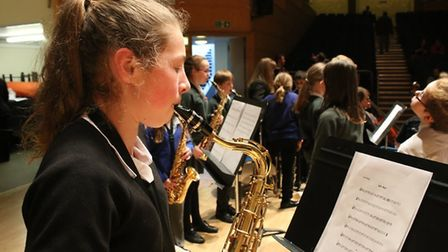 Young musicians showed off their talents at Youth Makes Music 2017. Picture: Ray Munden