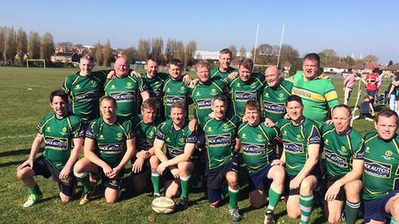 Huntingdon Staggerers won the East Midlands Intermediate Vets Cup.