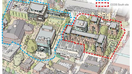 The output from the Design Charrette. Supplied by Angle Property.