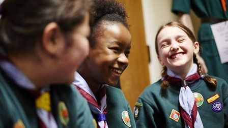 St Albans Scouts, who will be marching for St George's Day