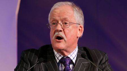 Roger Helmer, pictured here as a UKIP MEP in 2014, has tweeted that David Lammy's 'ranting' explains