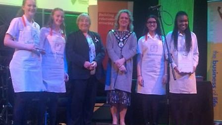 Bare Necessities from St Albans High School for Girls, who won the best business category in the loc