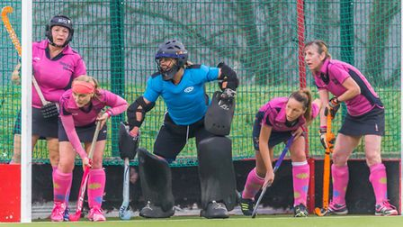 St Albans Hockey Club's Boadiceas in action earlier this season. Picture: Chris Hobson