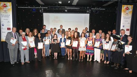 Herts Advertiser Community Awards 2016 winners and finalists.