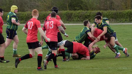 Stags were beaten by the Midlands Division One East leaders.