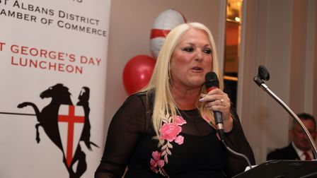 St Albans Chamber of Commerce St George's Day lunch 2017 - all photos by Spike Brown of Blue Feather