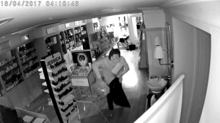 CCTV footage from Champneys.