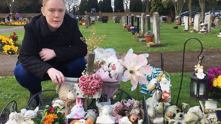 Donna Gillespie has spoken of her thanks to the community after vandals destory her daughter's grave