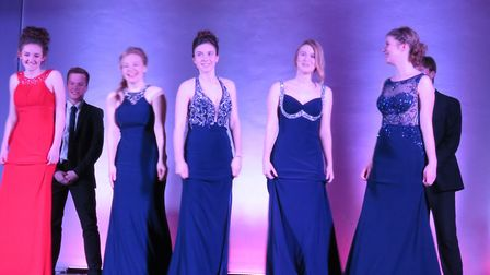 The show raised money for their prom in the summer.