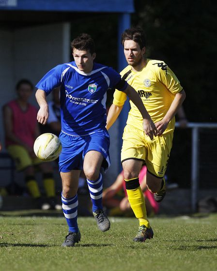 Greg Shaw in action for London Colney. Picture: KARYN HADDON