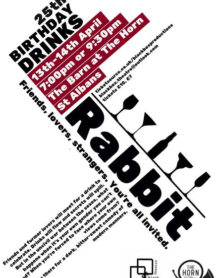 Black Box's forthcoming production of Rabbit can be seen at The Horn