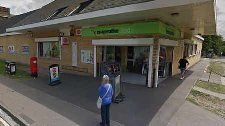 The Co-op in Haseldine Road, London Colney - photo courtesy Google Street View.