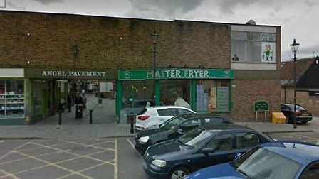 It is understood that Mr Gypps fell near to the Master Fryer chip shop in Royston. Picture: Google S