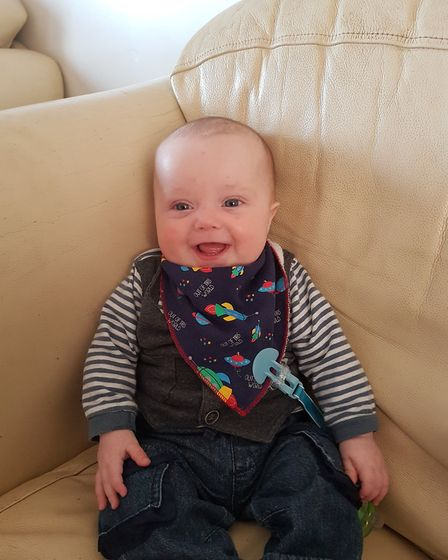 But thanks to the lifesaving treatment at the Rosie NICU, Jude is now recovered.