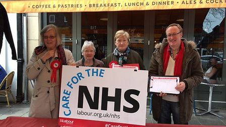 The St Albans Labour petition stall