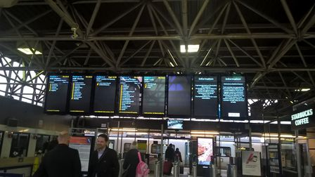 The new screens at Bedford.