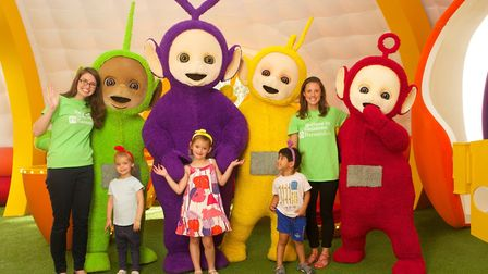 The Teletubbies are teaming up with children's charity Barnardo's. Picture: Piers Allardyce