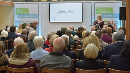 The Eleanor House sales launch took place at Hatfield House
