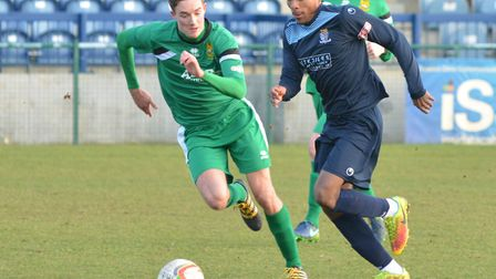 Jevani Brown bagged both goals as St Neots Town triumphed at Chippenham.